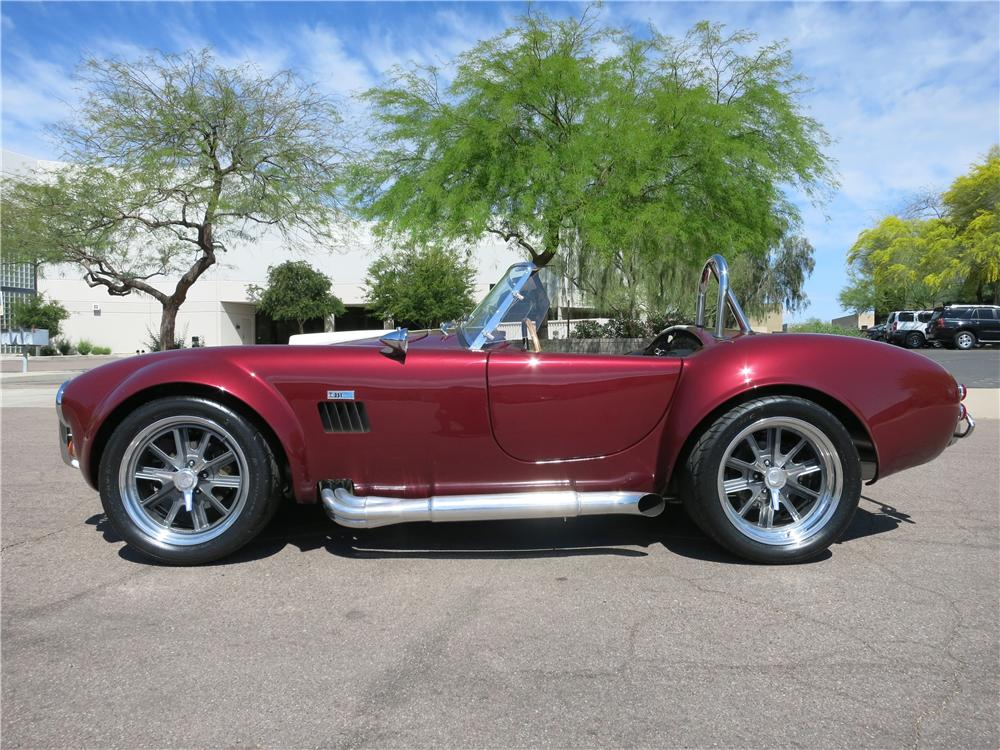 1965 SHELBY COBRA ROADSTER RE-CREATION - Side Profile - 170863
