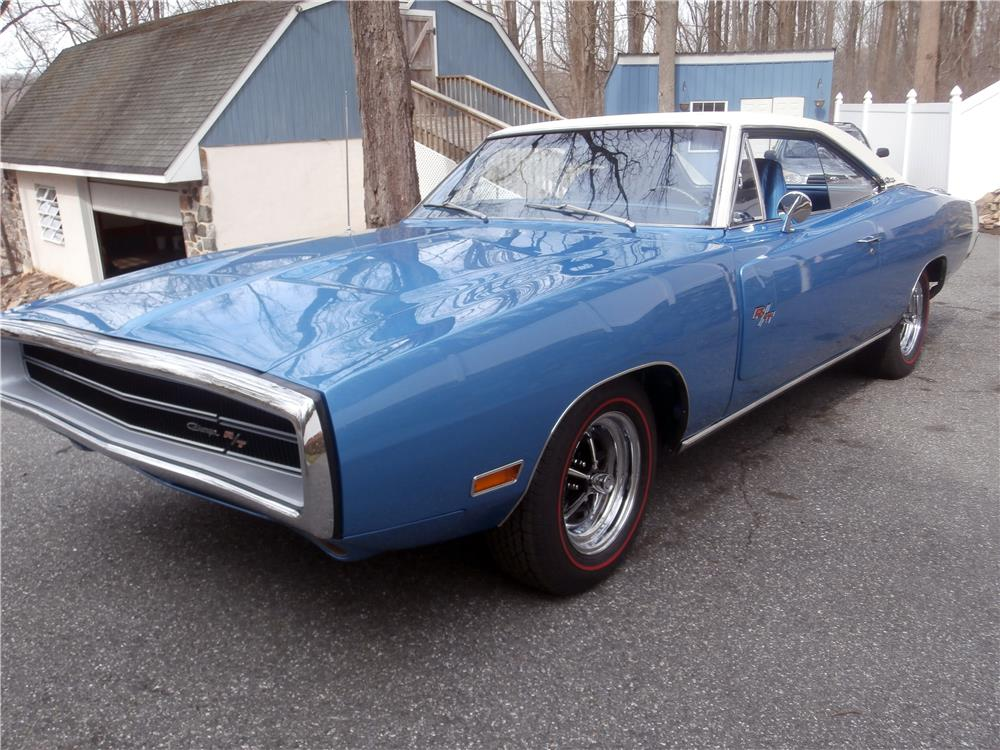 1970 DODGE CHARGER R/T 2 DOOR HARDTOP - Front 3/4 - 170871