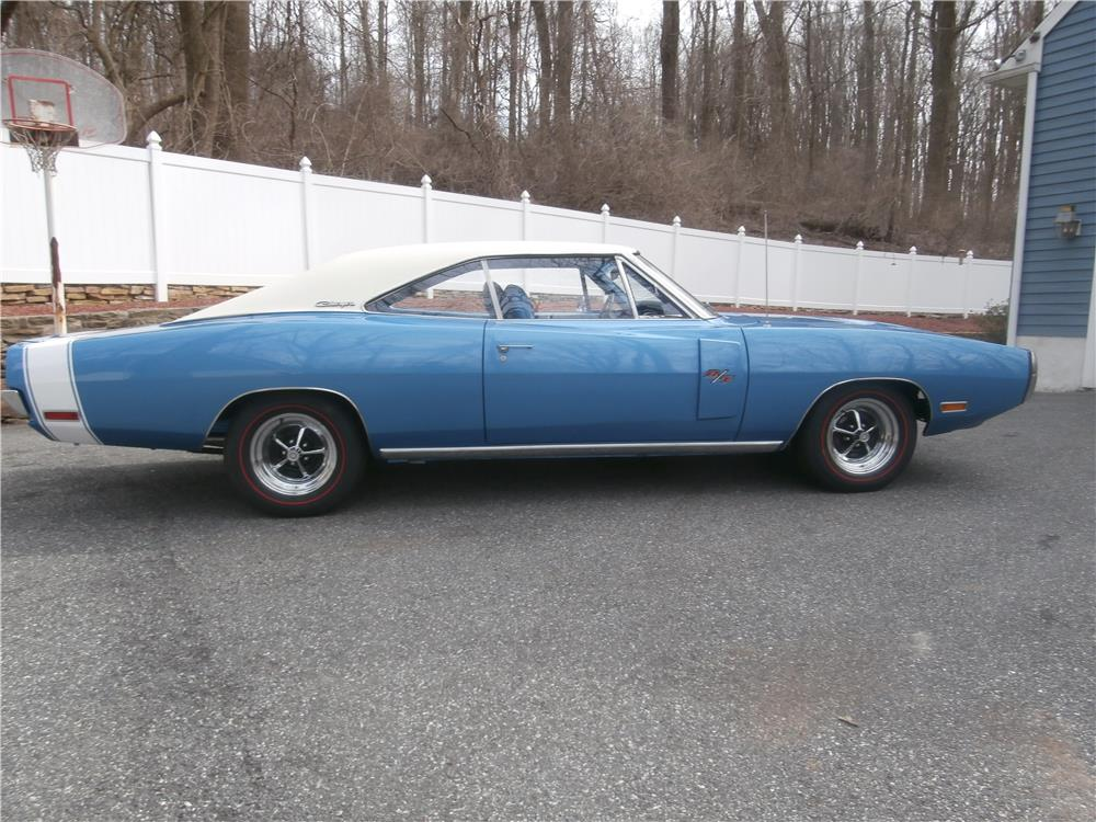 1970 DODGE CHARGER R/T 2 DOOR HARDTOP - Side Profile - 170871