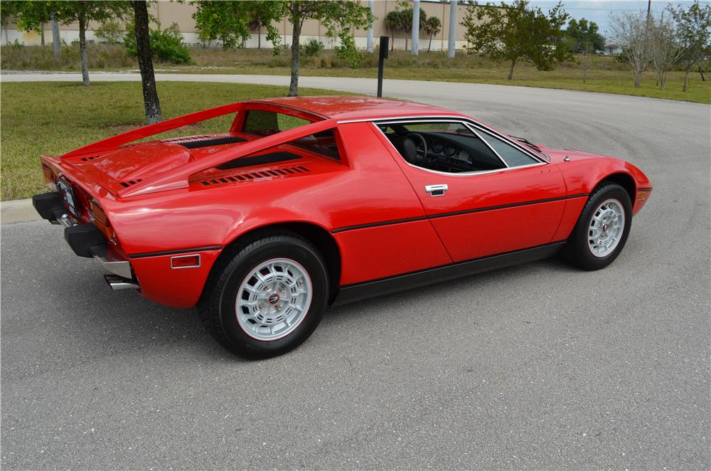 1974 MASERATI MERAK 2 DOOR HARDTOP - Side Profile - 170937