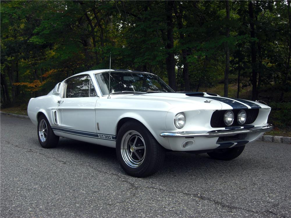 1967 SHELBY GT350 FASTBACK - Front 3/4 - 170944