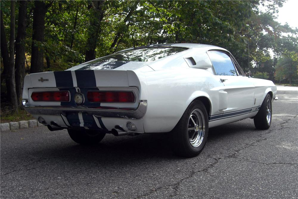 1967 SHELBY GT350 FASTBACK - Rear 3/4 - 170944