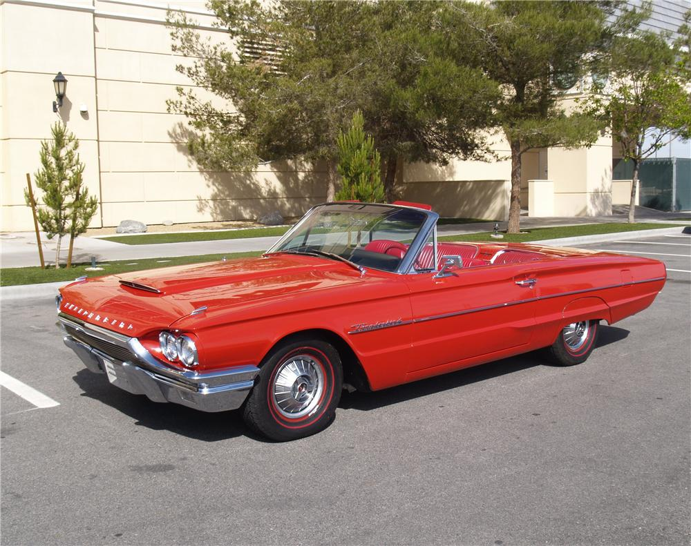 1964 FORD THUNDERBIRD CONVERTIBLE - Front 3/4 - 170951