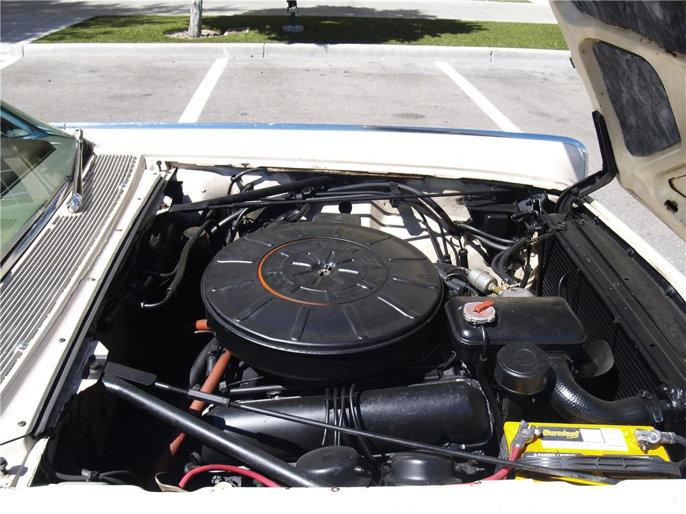 1962 LINCOLN CONTINENTAL CONVERTIBLE - Engine - 170952