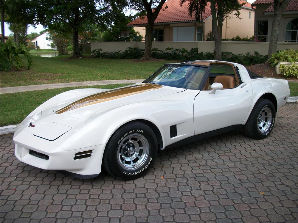 1981 CHEVROLET CORVETTE 2 DOOR COUPE - Front 3/4 - 170959
