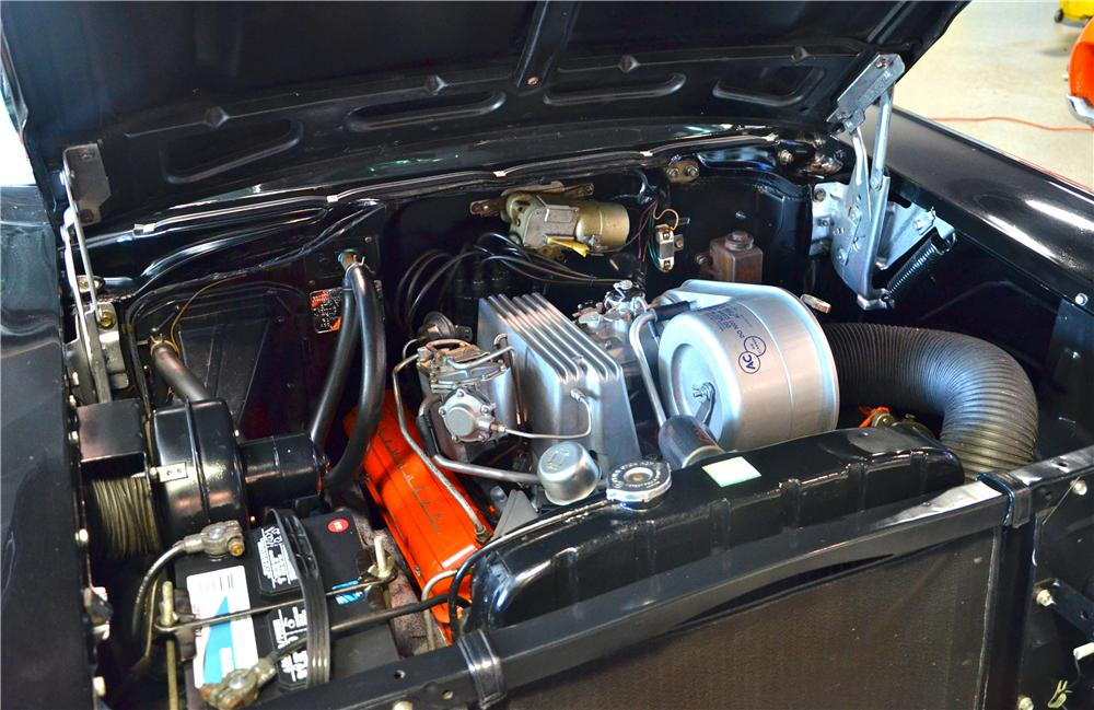 1957 CHEVROLET BEL AIR CONVERTIBLE - Engine - 170961