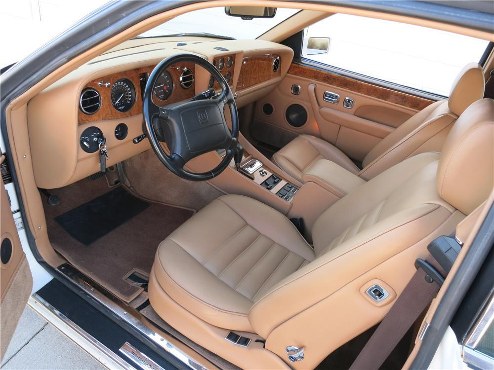 1995 BENTLEY CONTINENTAL T COUPE - Interior - 170963