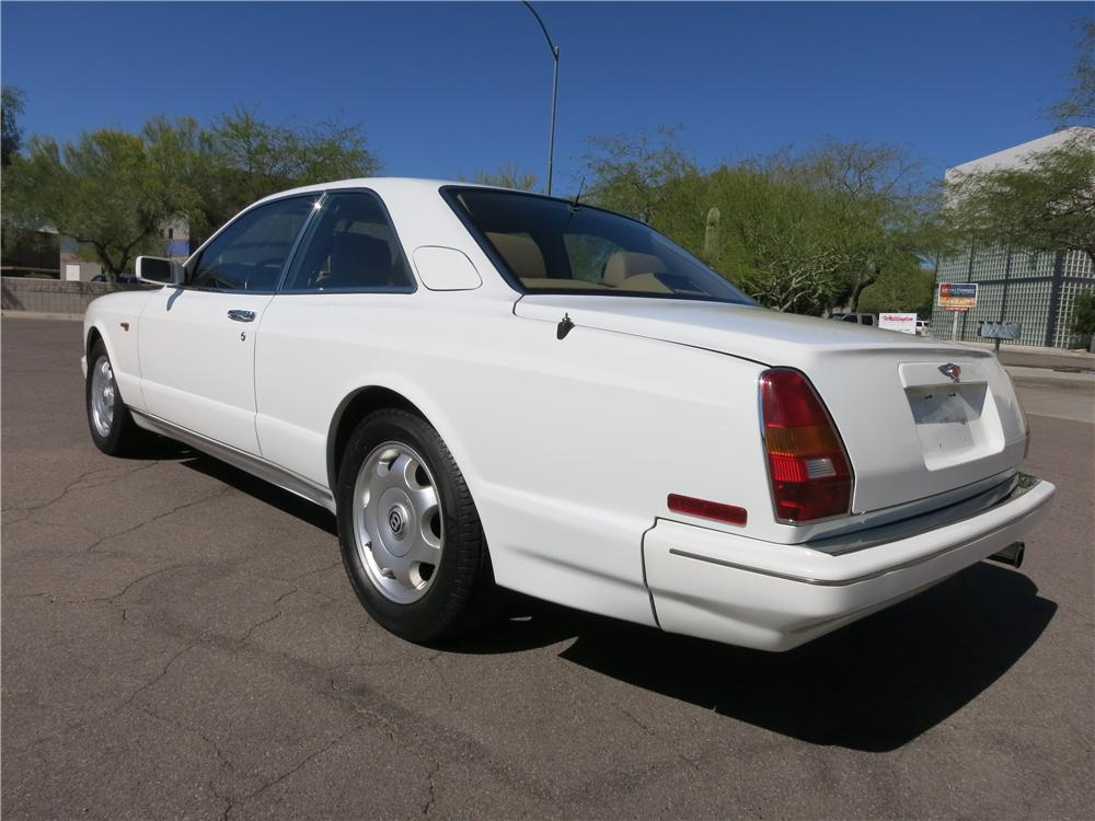 1995 BENTLEY CONTINENTAL T COUPE - Rear 3/4 - 170963