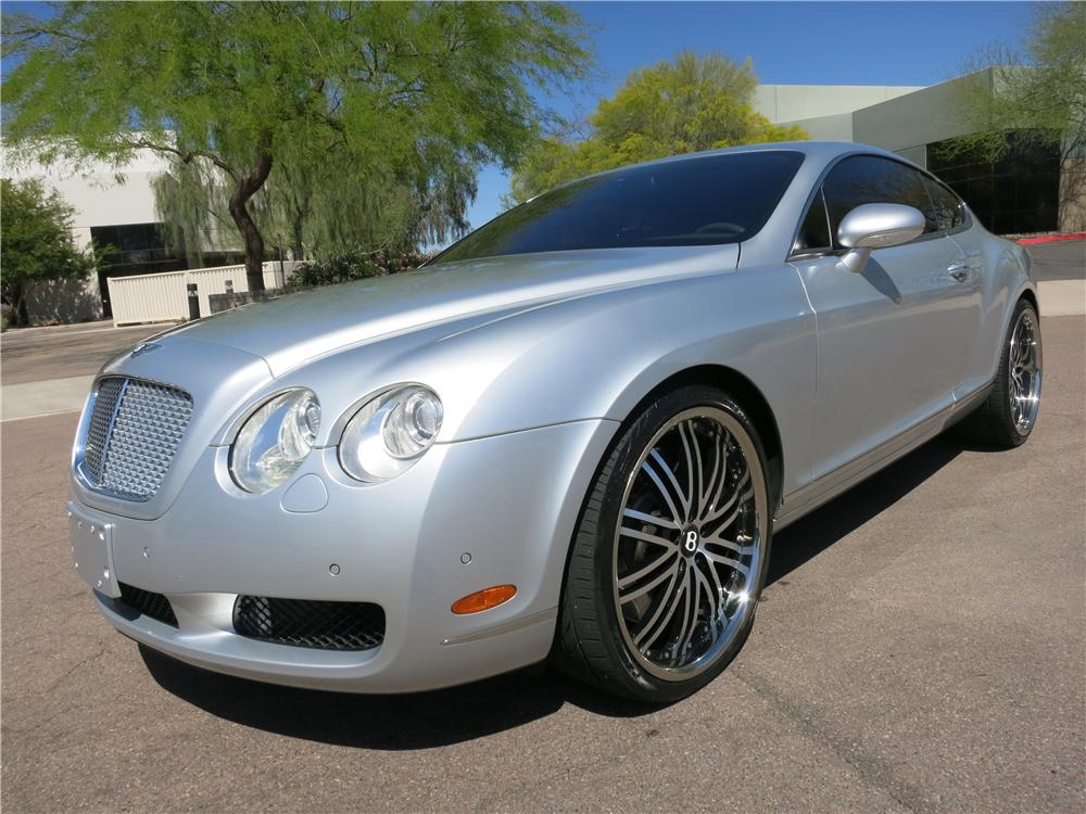2005 BENTLEY CONTINENTAL GT 2 DOOR COUPE - Front 3/4 - 170964