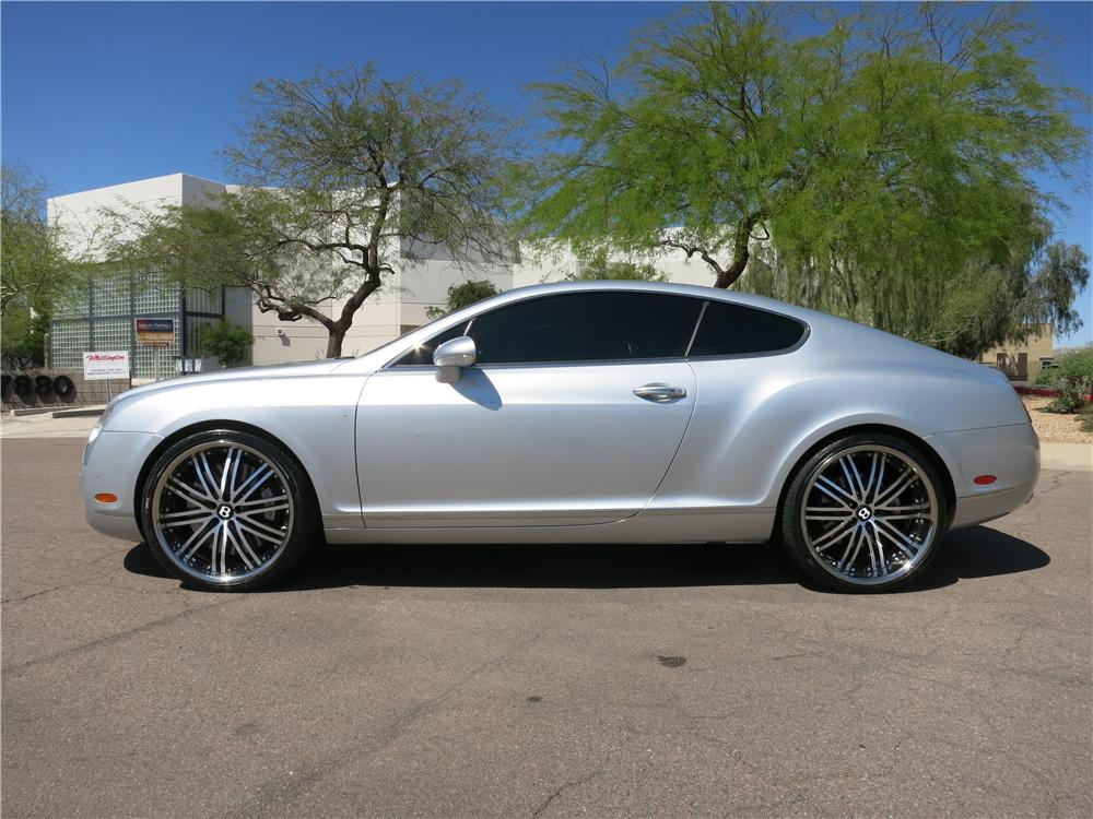 2005 BENTLEY CONTINENTAL GT 2 DOOR COUPE - Side Profile - 170964
