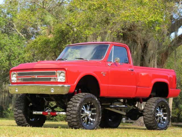 1967 CHEVROLET K10 CUSTOM PICKUP - Front 3/4 - 170967