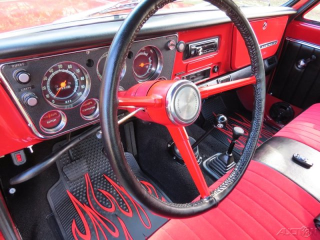 1967 CHEVROLET K10 CUSTOM PICKUP - Interior - 170967