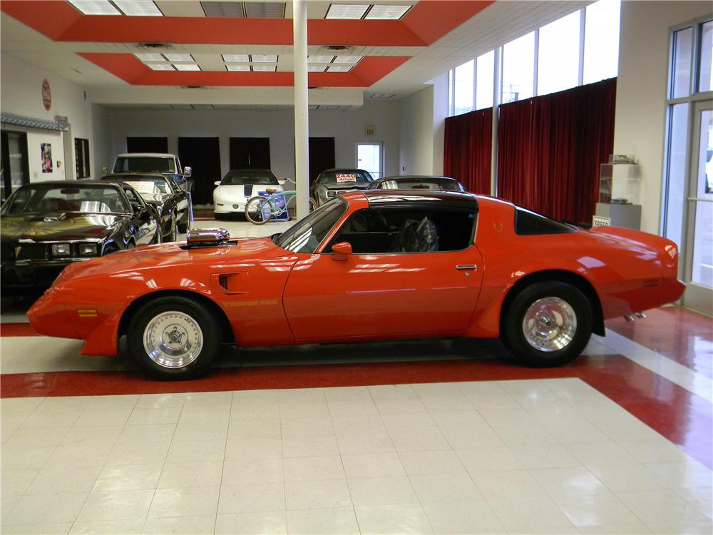 1979 PONTIAC FIREBIRD TRANS AM CUSTOM 2 DOOR COUPE - Side Profile - 170969