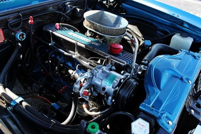 1968 CHEVROLET NOVA 2 DOOR COUPE - Engine - 170977