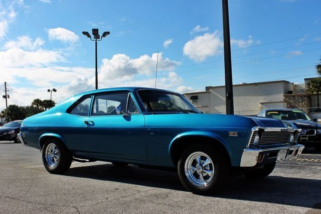 1968 CHEVROLET NOVA 2 DOOR COUPE - Front 3/4 - 170977