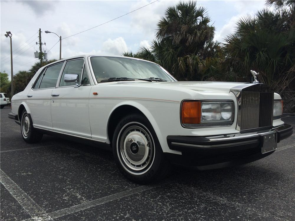 1995 ROLLS-ROYCE SILVER SPUR 4 DOOR SEDAN - Front 3/4 - 170981