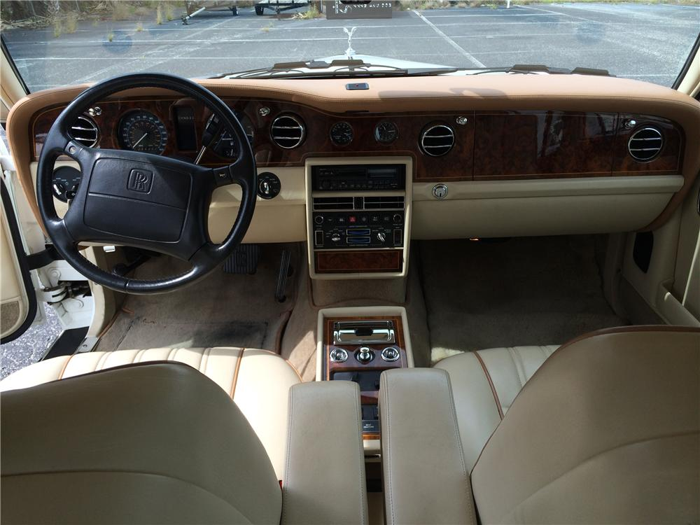 1995 ROLLS-ROYCE SILVER SPUR 4 DOOR SEDAN - Interior - 170981