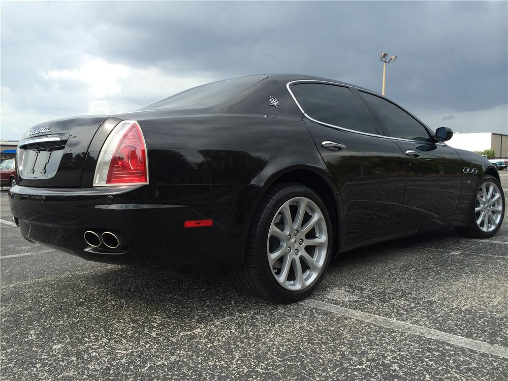 2006 maserati quattroporte 4 door sedan 170985. Black Bedroom Furniture Sets. Home Design Ideas