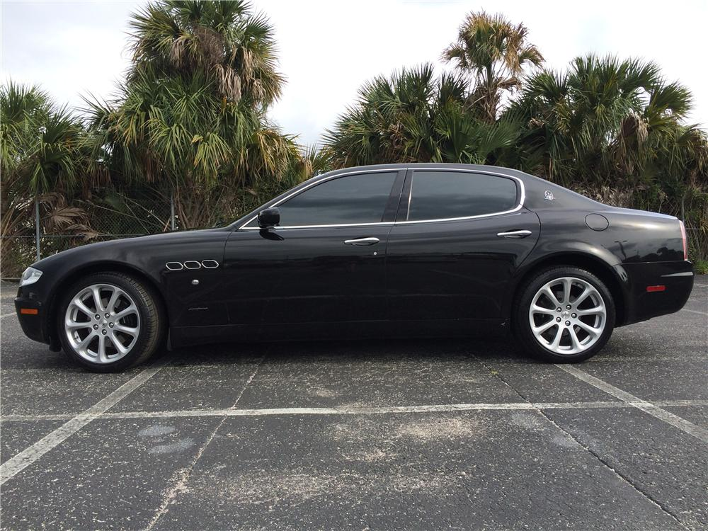 2006 MASERATI QUATTROPORTE 4 DOOR SEDAN - Side Profile - 170985
