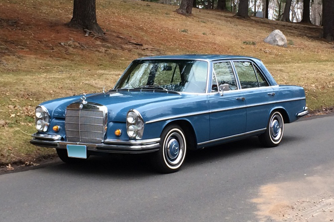 1967 mercedes benz 250s 4 door sedan 170996