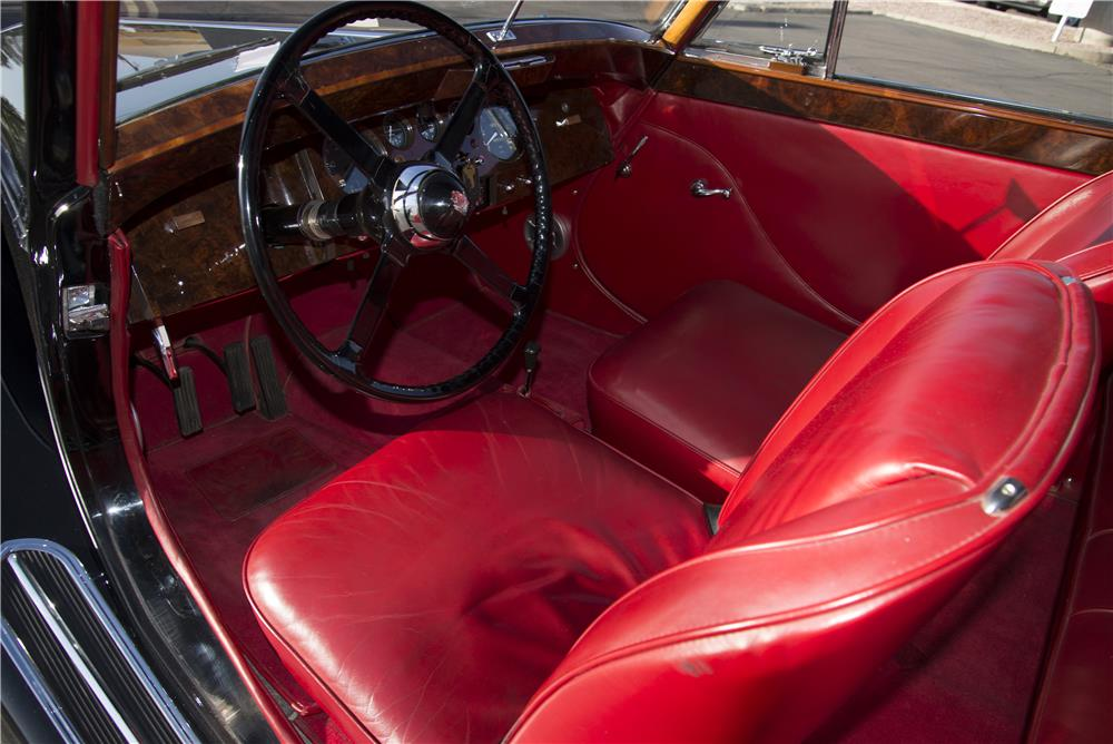 1950 JAGUAR MARK V DROPHEAD COUPE - Interior - 171308