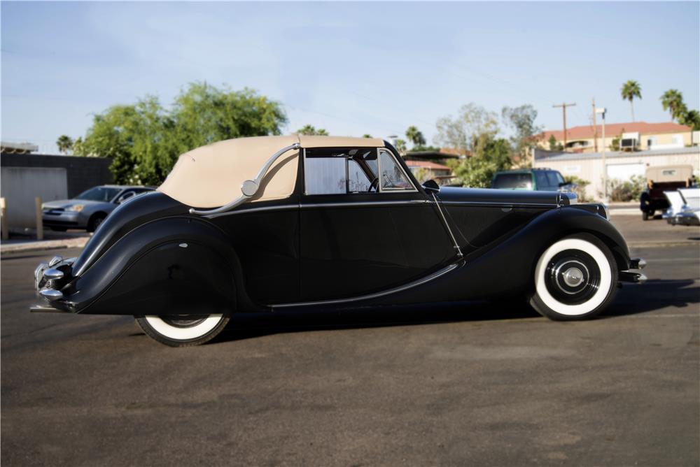1950 JAGUAR MARK V DROPHEAD COUPE - Side Profile - 171308