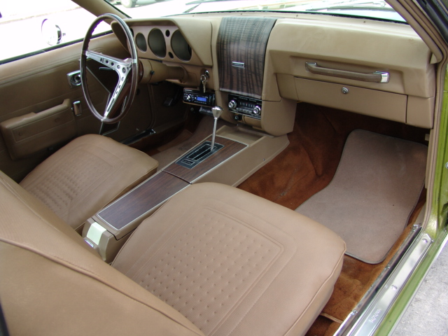 1969 AMERICAN MOTORS AMX 2 DOOR COUPE - Interior - 172049