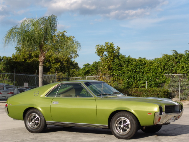 1969 AMERICAN MOTORS AMX 2 DOOR COUPE - Side Profile - 172049