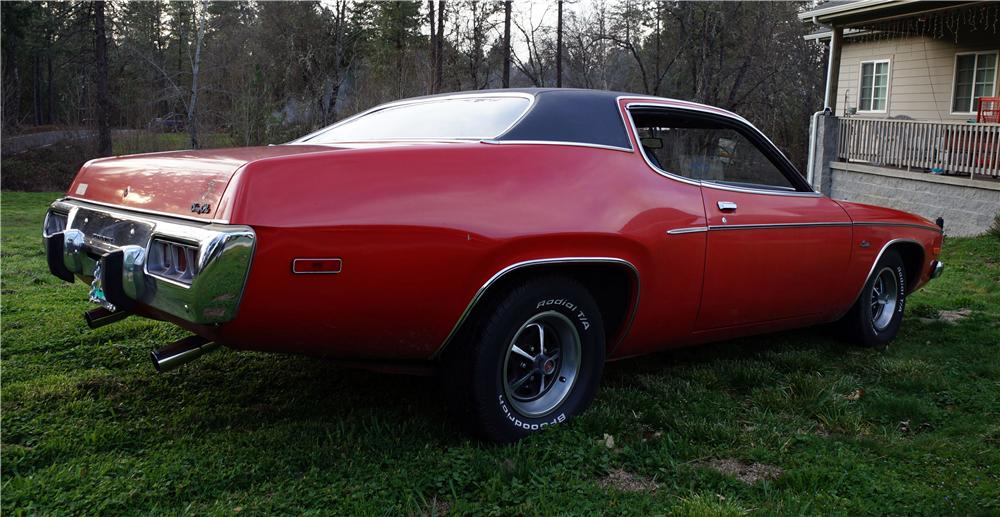 1973 PLYMOUTH SATELLITE 2 DOOR HARDTOP - Rear 3/4 - 174441