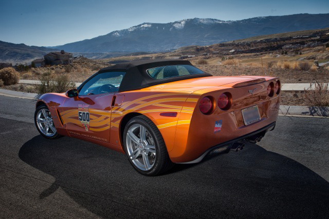 2007 CHEVROLET CORVETTE CONVERTIBLE - Rear 3/4 - 174442