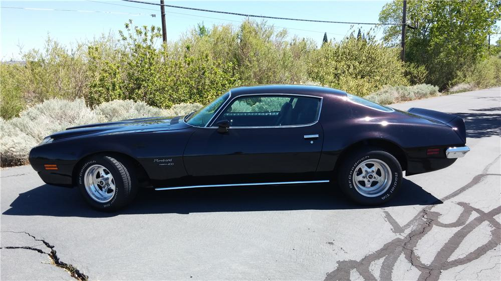1970 PONTIAC FIREBIRD 400 RAM AIR 2 DOOR COUPE - Side Profile - 174455