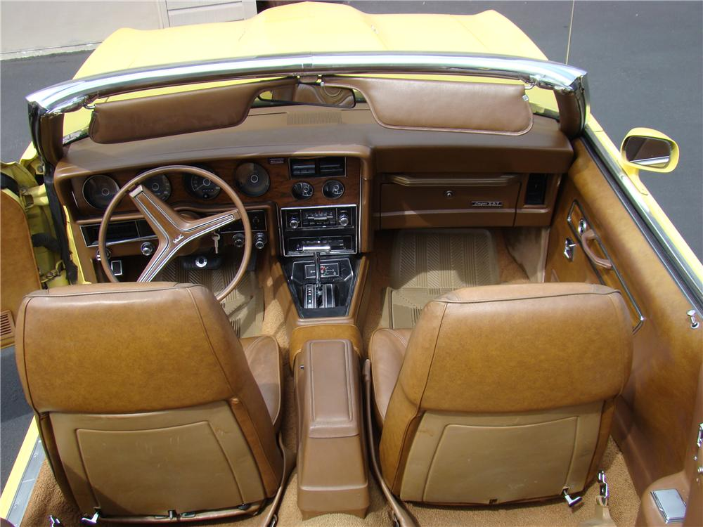 1973 MERCURY COUGAR XR7 CONVERTIBLE - Interior - 174457