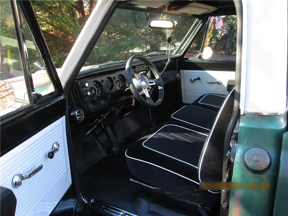 1968 CHEVROLET C-10 PICKUP - Interior - 174461