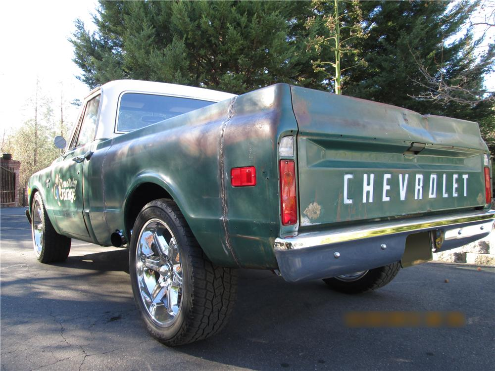 1968 CHEVROLET C-10 PICKUP - Rear 3/4 - 174461