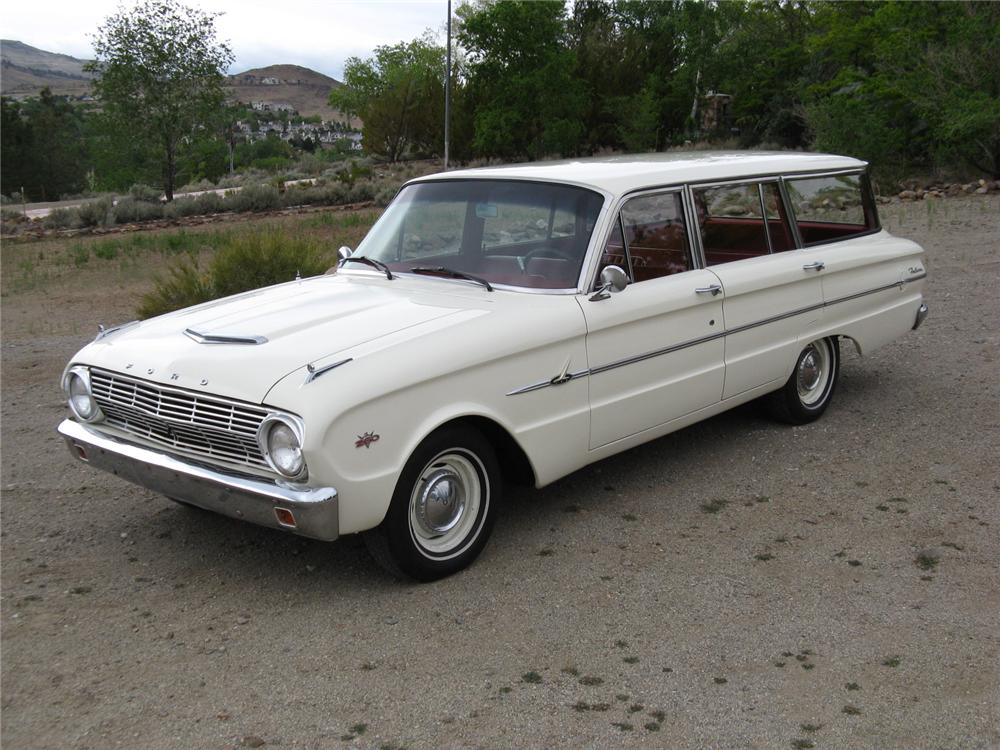 1963 FORD FALCON STATION WAGON - Front 3/4 - 174464