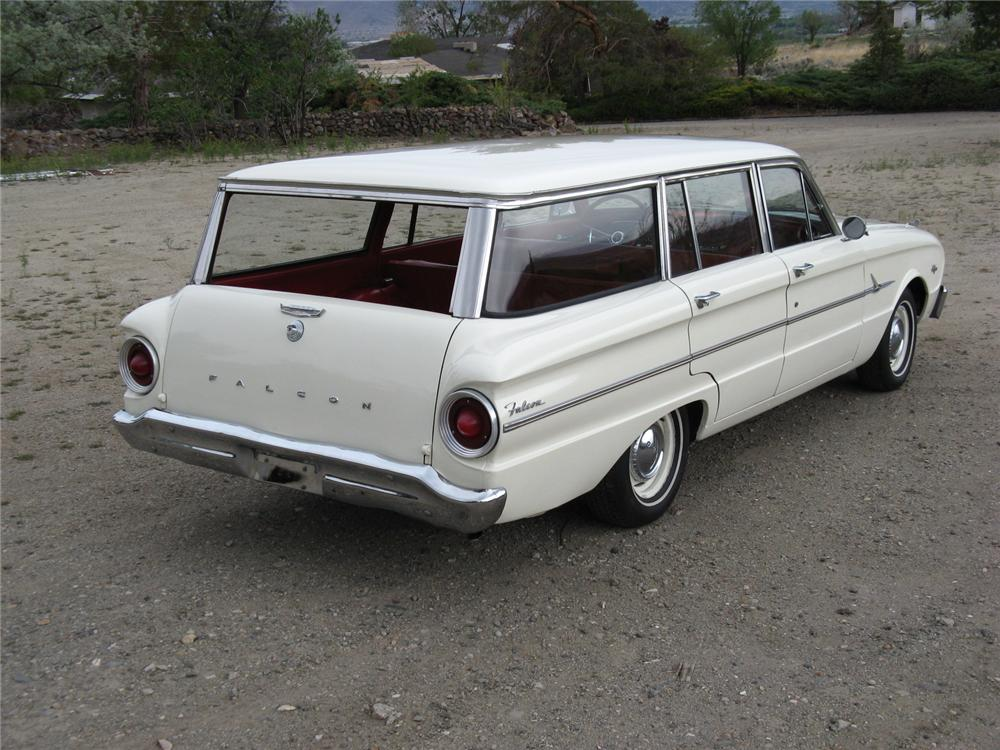 1963 FORD FALCON STATION WAGON - Rear 3/4 - 174464