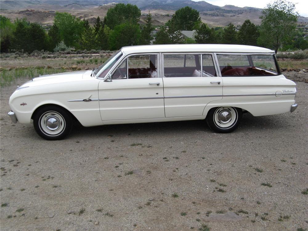 1963 FORD FALCON STATION WAGON - Side Profile - 174464