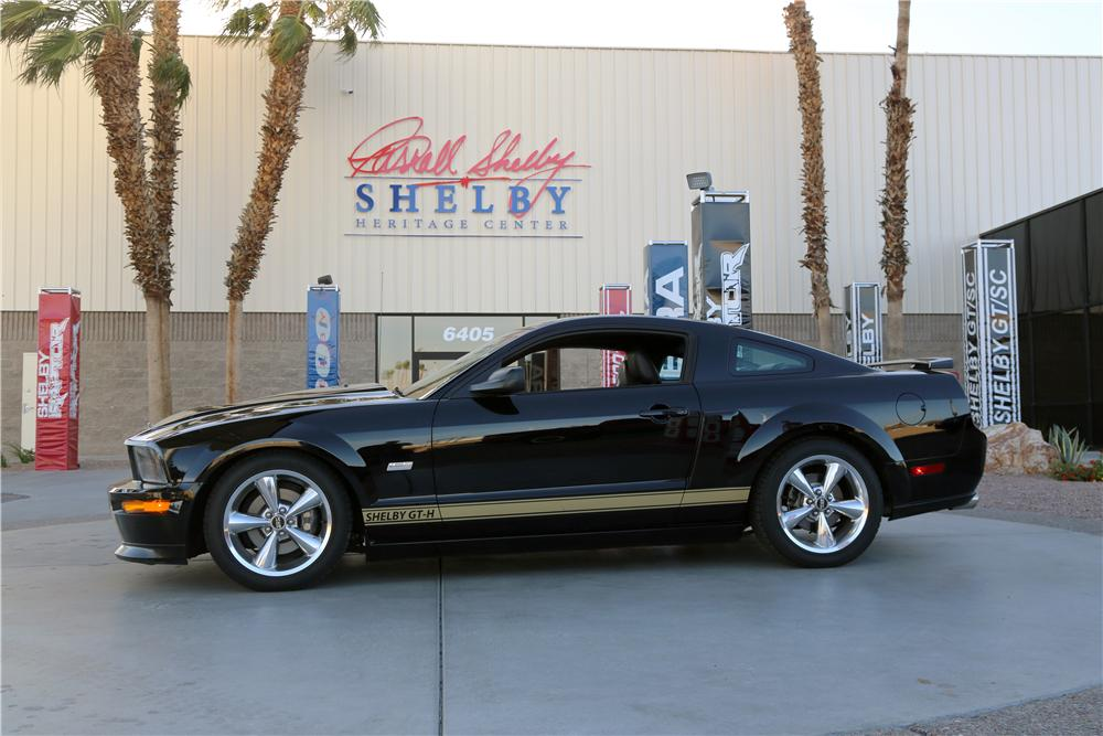 2006 SHELBY GT-H 2 DOOR COUPE - Side Profile - 174466