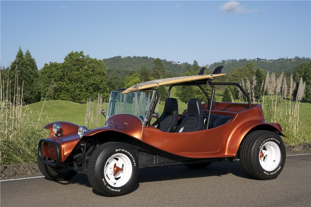 Custom Sand Buggies : Volkswagen custom dune buggy