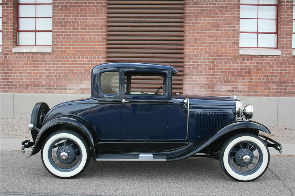 1930 FORD MODEL A COUPE - Side Profile - 174476