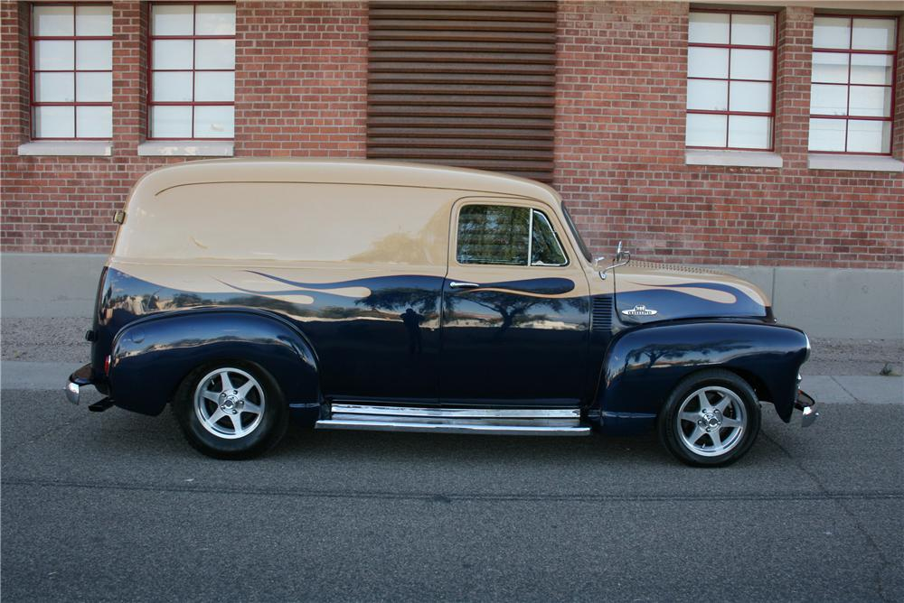 1955 CHEVROLET CUSTOM PANEL DELIVERY - Side Profile - 174479