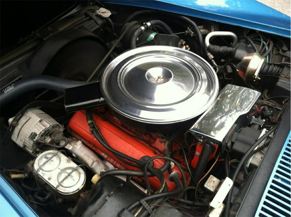 1971 CHEVROLET CORVETTE 2 DOOR COUPE - Engine - 174484