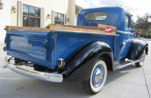 1941 CHEVROLET 1/2 TON PICKUP - Rear 3/4 - 174490