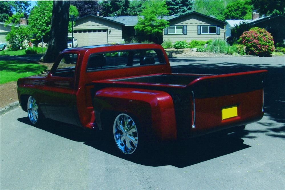 1978 CHEVROLET CUSTOM PICKUP - Rear 3/4 - 174492