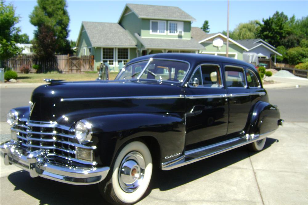 1949 CADILLAC SERIES 75 LIMOUSINE - Front 3/4 - 174493