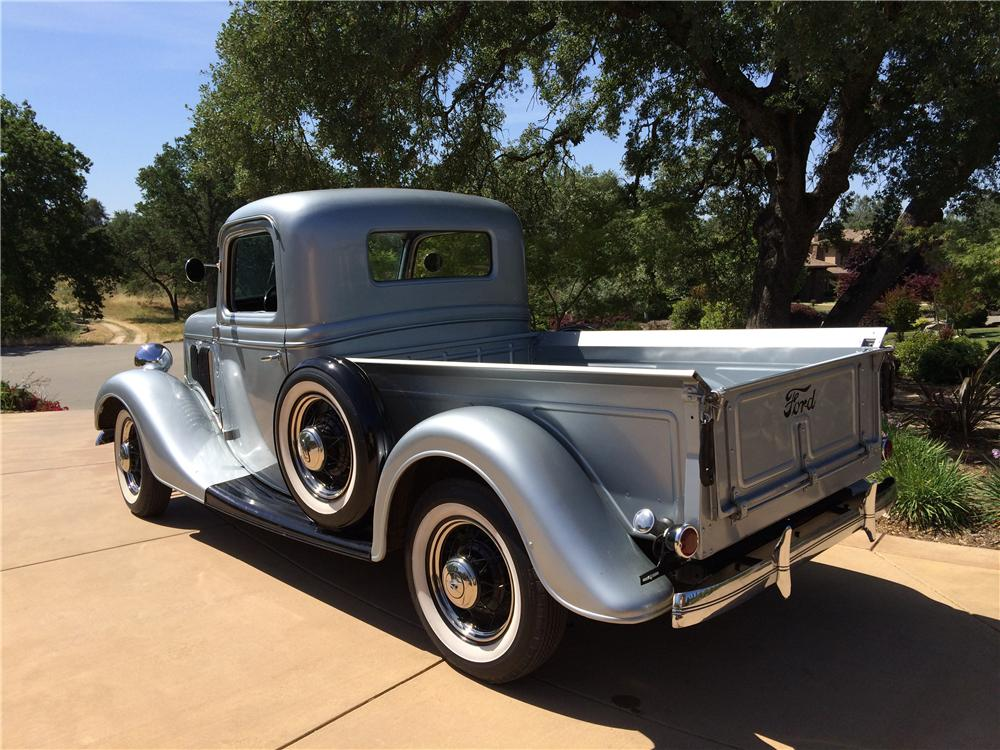 1935 FORD 1/2 TON PICKUP - Rear 3/4 - 174494