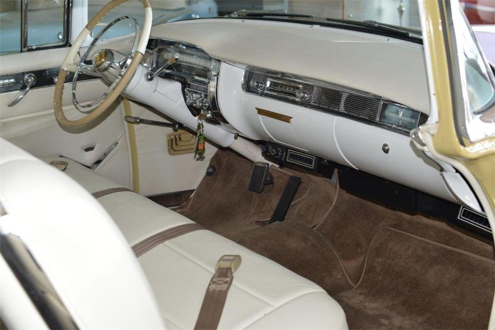 1955 CADILLAC SERIES 62 2 DOOR COUPE - Interior - 174498
