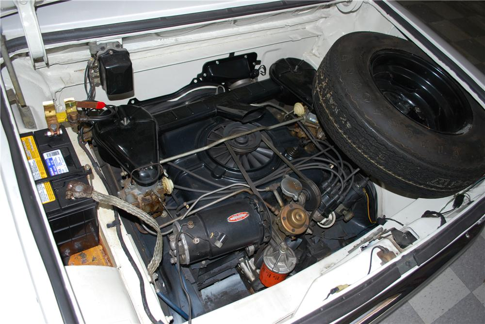1962 CHEVROLET CORVAIR 2 DOOR COUPE - Engine - 174499