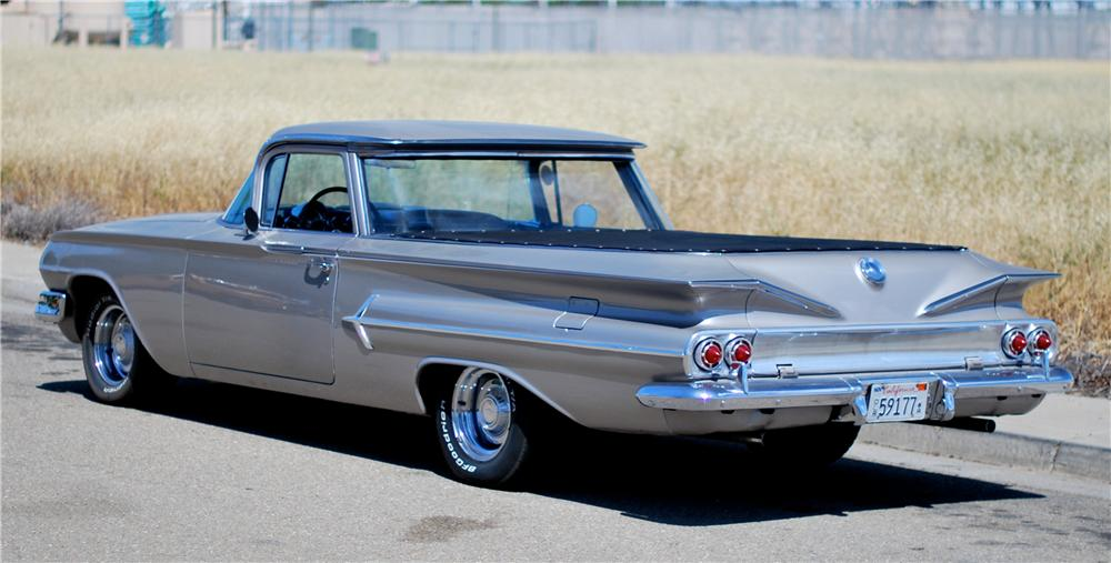 1960 CHEVROLET EL CAMINO CUSTOM PICKUP - 174500