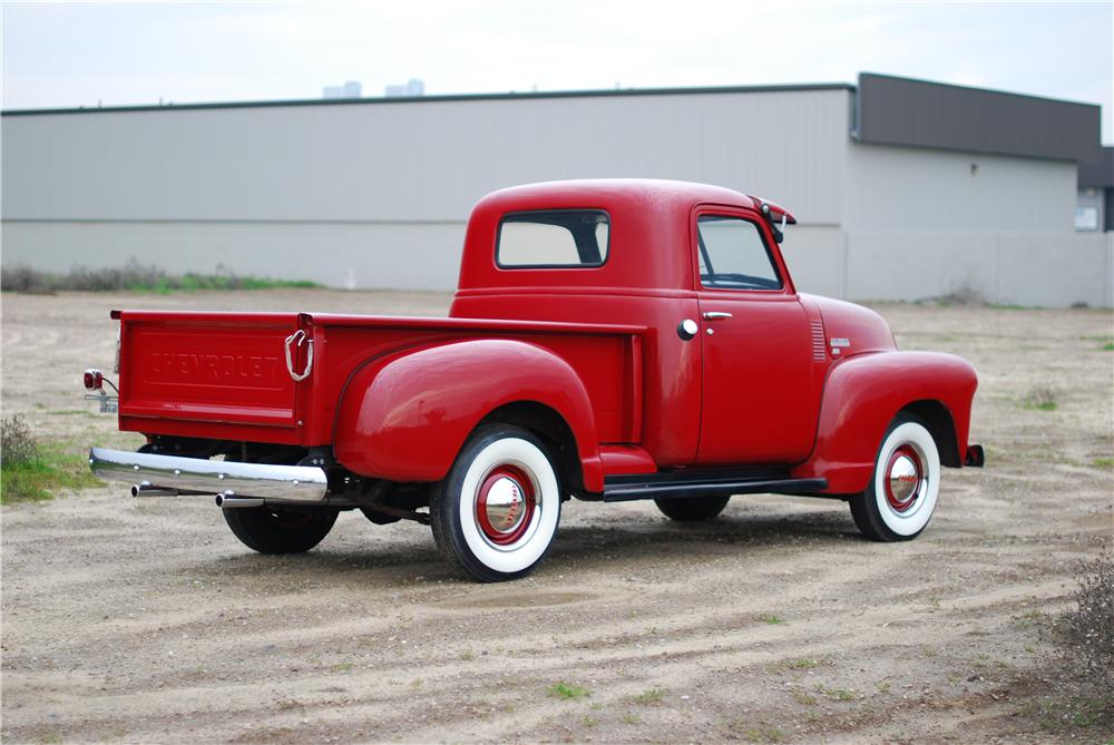 1949 CHEVROLET PICKUP - Rear 3/4 - 174501